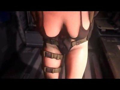 Metal Gear Solid BigBossXQuiet SFM Special 1