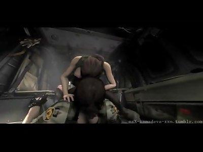 Metal Gear Solid BigBossXQuiet SFM Special 2