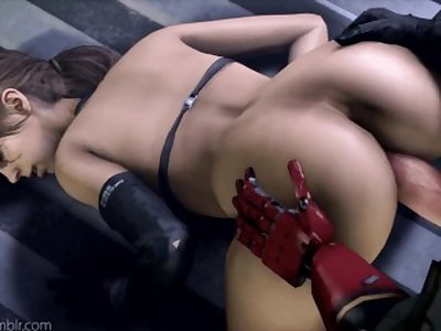 Quiet - Stefanie Joosten - Metal Gear Solid Porn