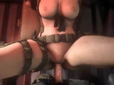 MGS Quiet getting fucked