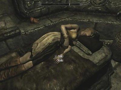 Skyrim - Sex With Hroki