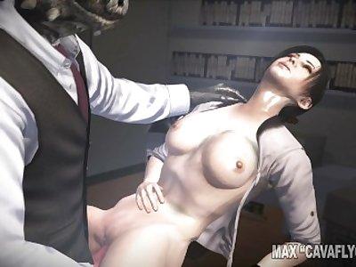 Office Reptile intercourse (Scene 089)