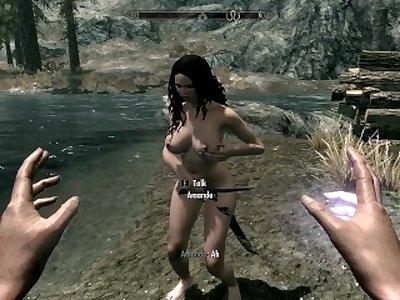 Skyrim Sex Play- Lesbians