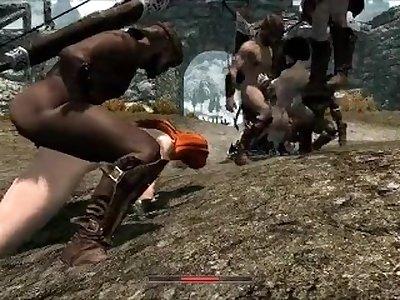 Skyrim Slut Get fucked!