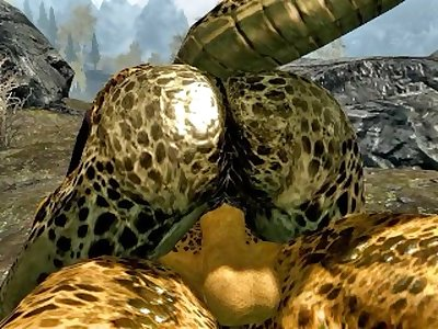 Private sex of Argonians