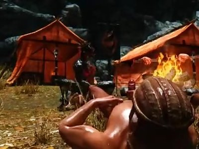 Skyrim: Orgy at the Imperial Camp