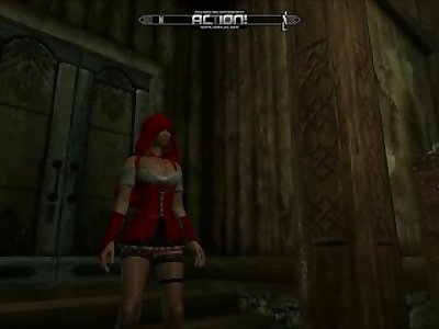 Little Red Riding Hood Gets Fucked - Skyrim