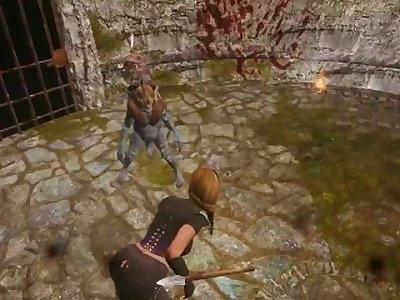 Skyrim Beastly Arena Round 1