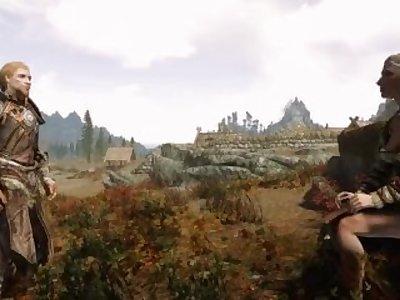 Skyrim Fantasies : Olfina & Jon