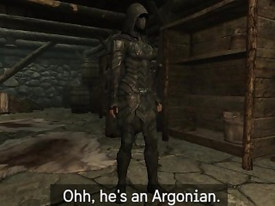May and Derkeethus, the Argonian