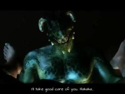 Animated Skyrim long hot fuck