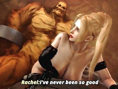 rachel fuck by monster huge cock