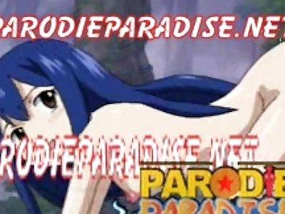 Fairy Tail XXX 3 Wendy x Natsu - Desto (ParodieParadise)