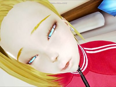 Android 18's past time while Krillin is away (Honey Select: Dragon Ball)
