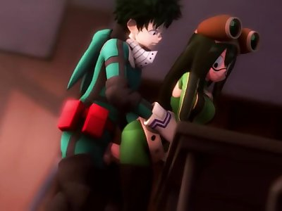 Tsuyu Asui Thighjob (Source Filmmaker - GreatM8)