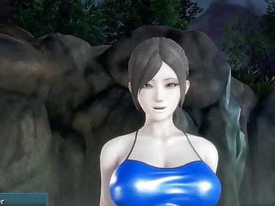 Threesome Wii Fit Trainer Super Smash Bros 4 Hentai 3D SSB4