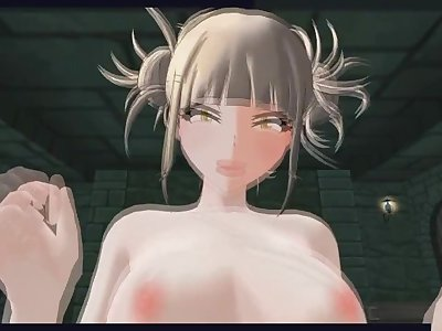 [CM3D2] Boku No Hero Academia Hentai - Toga fucks you hard