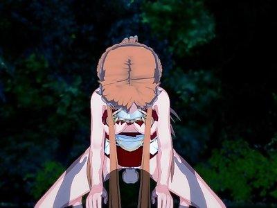 Sword Art Online - Asuna Yuuki 3D Hentai