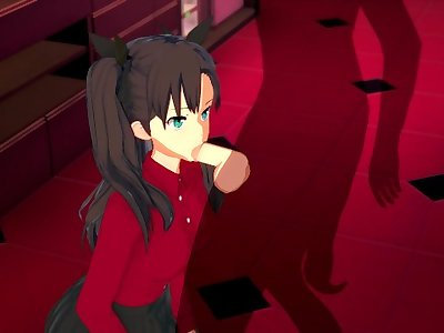 Fate/stay night - Rin Tohsaka 3D Hentai