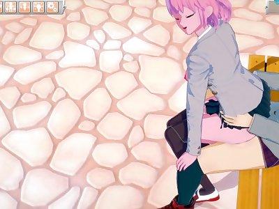 My Hero Academia Mina Ashido VS Izuku Midoriya (Hentai)