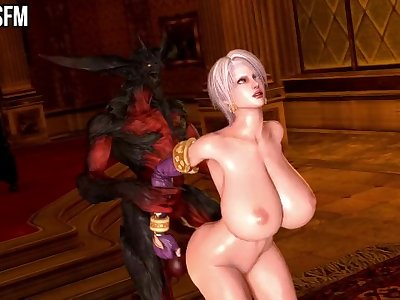 DEMON WORSHIP: IVY VALENTINE (HUGE TITS EDITION) [PMMSFM]