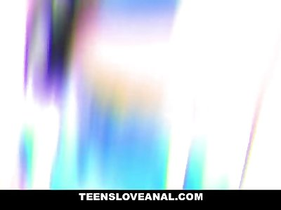 TeensLoveAnal - Fit Cute Teen Gets Her Ass Drilled By Big Dick Daddy