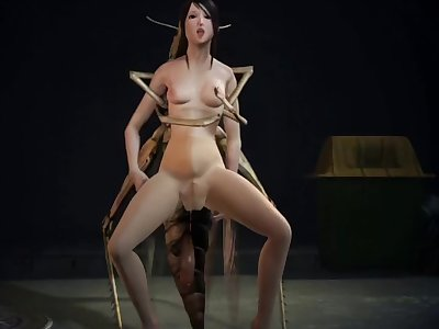 POOR SAKURA UNCENSORED INSECT FUCK DAIN AI 60 FPS 4K WITH SOUND