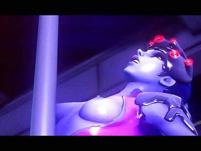 Drugs: Widowmaker x Mad Moxxi [Futa animation]
