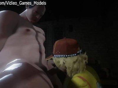 Final Fantasy XV Cindy Aurum Hentai Part 2