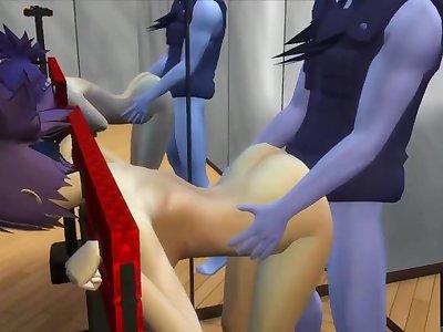 Anko The Sex Slave Ninja of Her Master Orochimaru Naruto Hentai Mature