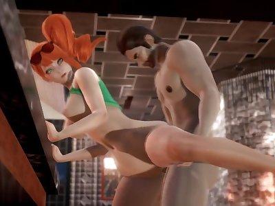 Pokemon - Sex with Sonia (3D Porn)