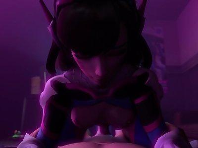 [SFM] Overwatch DVa Passionate Sex