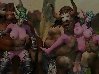 Ysera And Tyrande Warcraft porn