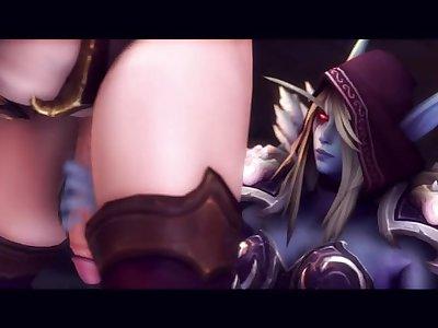World of Warcraft - Her Queen 2 (Futanari) GreatM8