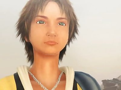 3D adult [FINAL FANTASY X]The love of Yuna