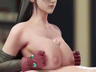 Amazing 3d titfuck