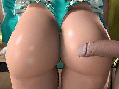 Rainbow Mika - Butt Stuff
