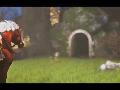 Fountain of pleasure Great fairy (One of the best zelda videos) disfruten!