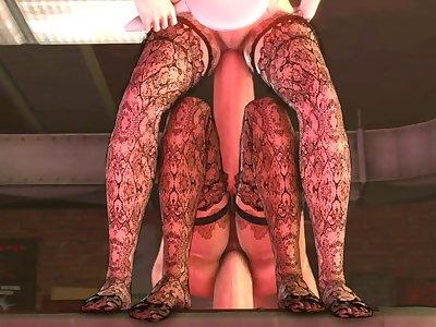 Bioshock infinite: Mirrors of satisfaction [part 4] {FUTA}