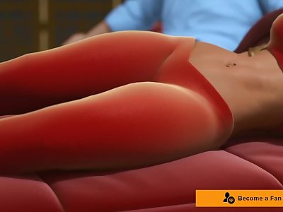 Exotic Princess Jazmine fucks in her Palace, Part 1