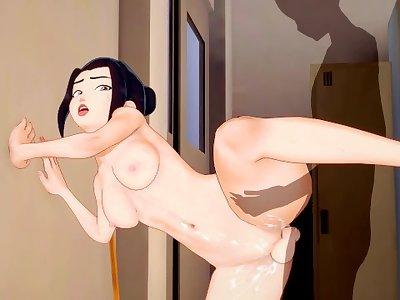 Azula [Avatar: The Last Airbender] — 3d hentai