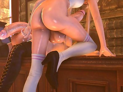 Helena and Marie Morning sex