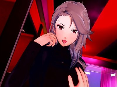 Persona 5: Sae Niijima ROUGH SEX IN A HOTEL ROOM (3D Hentai)