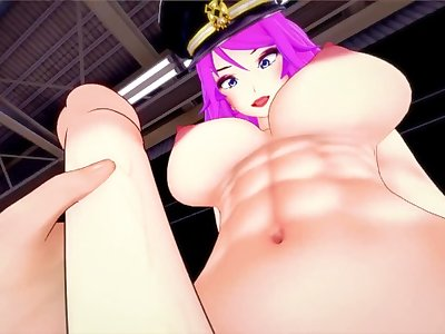 Street fighter futa Poison-come on suck my dick while no one is around! Taker POV