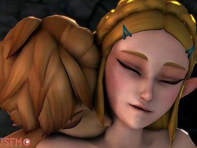 Link Creampies Princess Zelda
