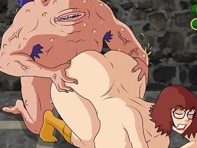 Meet And Fuck - Scooby Doo - Velma Gets Spooked - Meet'N'Fuck - Hentai Cartoon