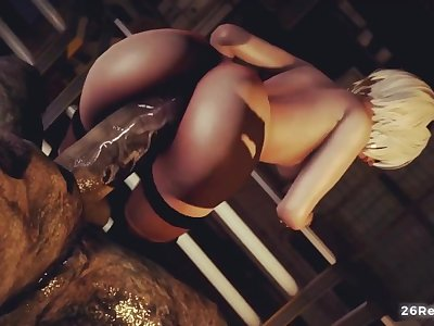 2b fucked by monster, nier automata 3d porn
