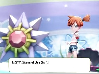 Misty, Pokemon Lets Go