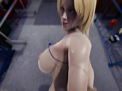 DOA - Marie Rose Succubus X Tina Armstrong Anal, BJ, Missionary, Riding, Doggystyle (credit: Roy12)