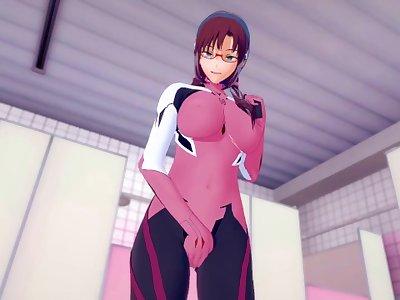 Evangelion: POUNDING MARI UNTIL CREAMPIE (3D Hentai)